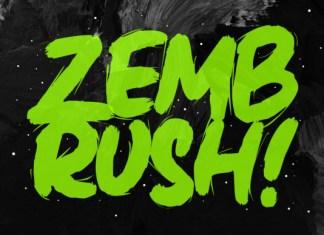 Zembrush Font