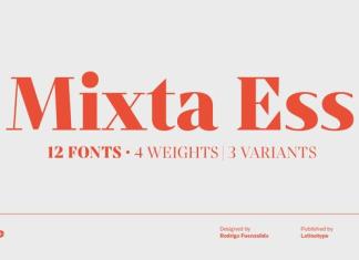 Mixta Essential Font