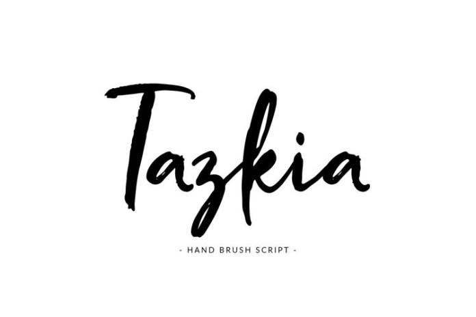 Tazkia Font