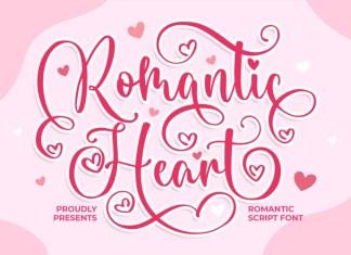 Romantic Heart Font