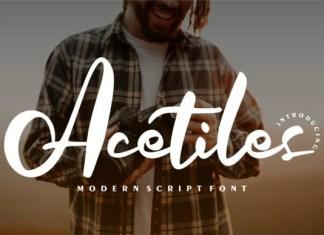 Acetiles Font
