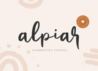 Alpiar Font