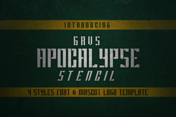 Apocalypse Font