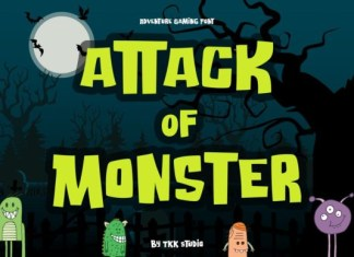 Attack of Monster Font
