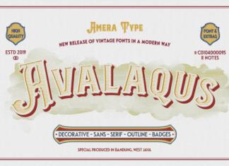 Avalaqus Font