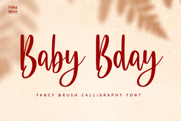 Baby Bday Font
