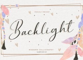 Backlight Font