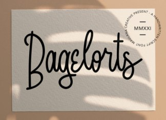 Bagelorts Font