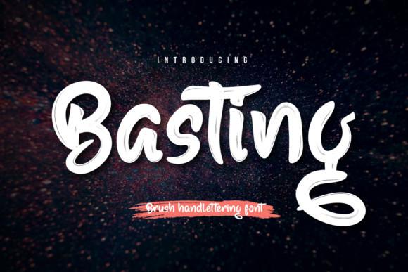 Basting Font