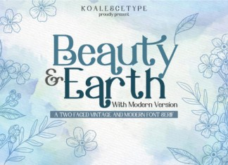 Beauty Earth Font
