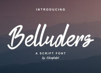 Belluders Font