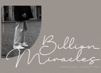 Billion Miracles Font