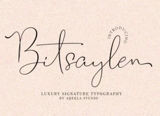 Bitsaylen Font