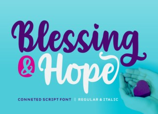 Blessing & Hope Font