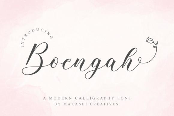 Boengah Font
