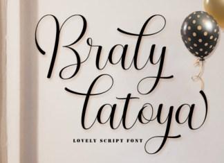 Braly Latoya Font