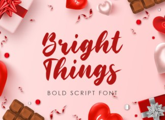 Bright Things Font