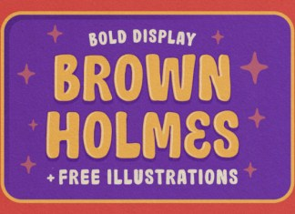 Brown Holmes Font