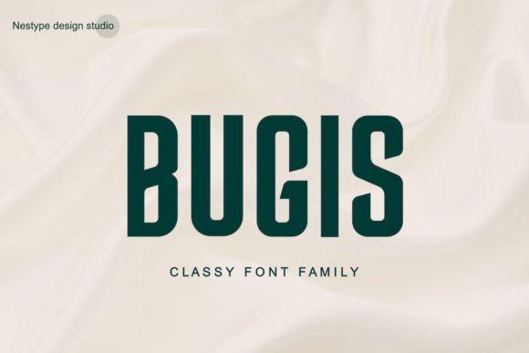 Bugis Font