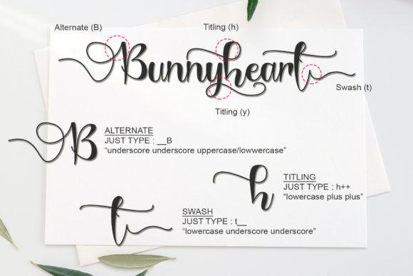 Bunnyheart Font
