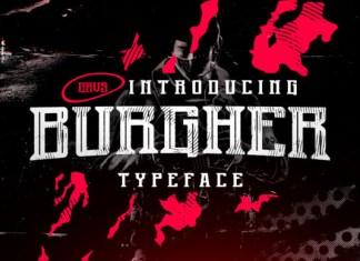 Burgher Font