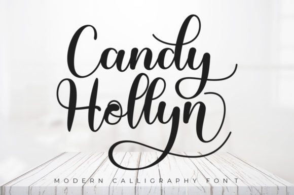Candy Hollyn Font