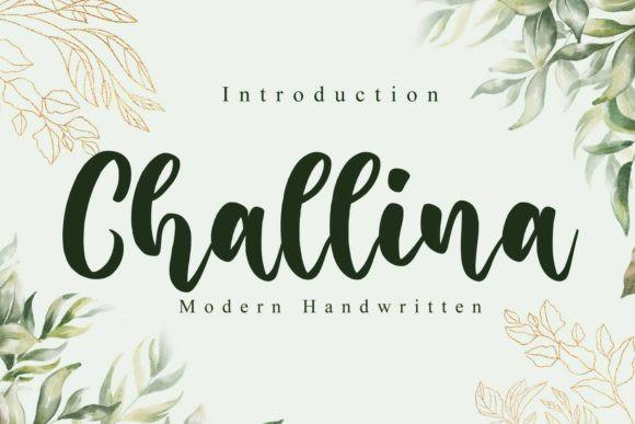 Challina Font