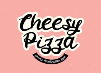 Cheesy Pizza Font