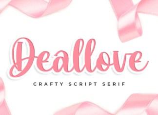 Deallove Font