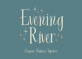 Evening River Font