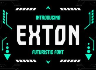 Exton Font