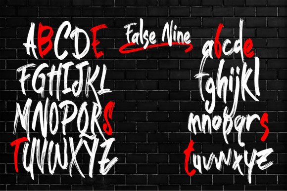 False Nine Font