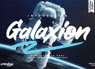 Galaxion Font