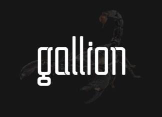 Gallion Font