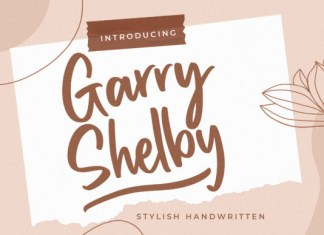 Garry Shelby Font