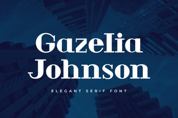 Gazelia Johnson Font