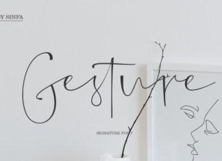 Gesture Font