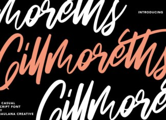 Gillmoreths Font