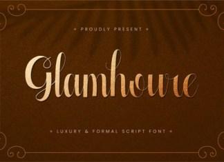 Glamhoure Font