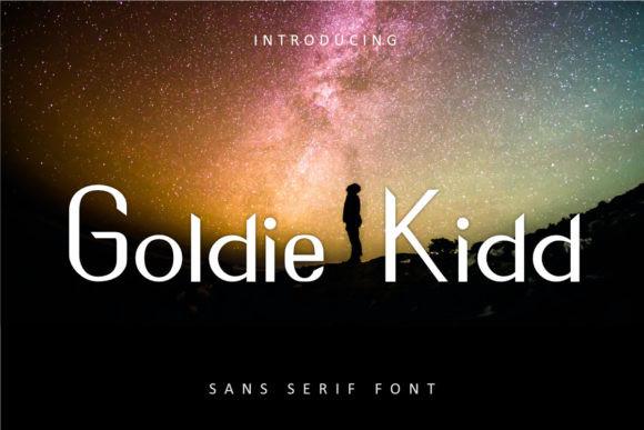 Goldie Kidd Font