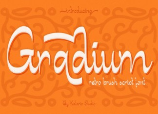Gradium Font