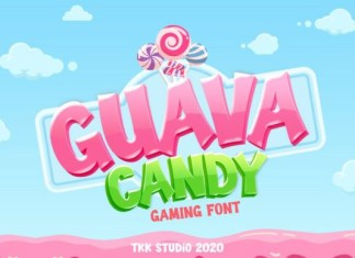 Guava Candy Font