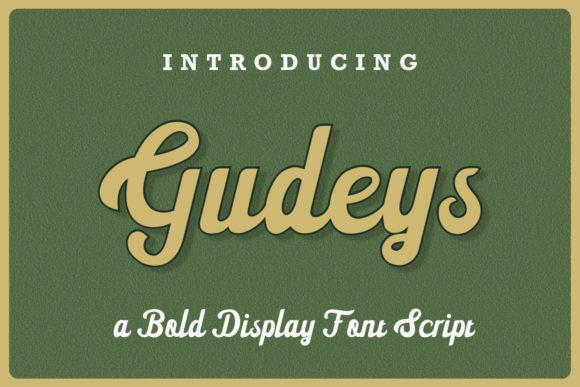 Gudeys Font