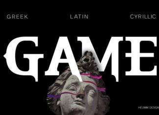 HU the Game Greek Font