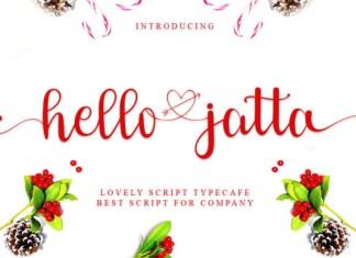 Hello Jatta Font