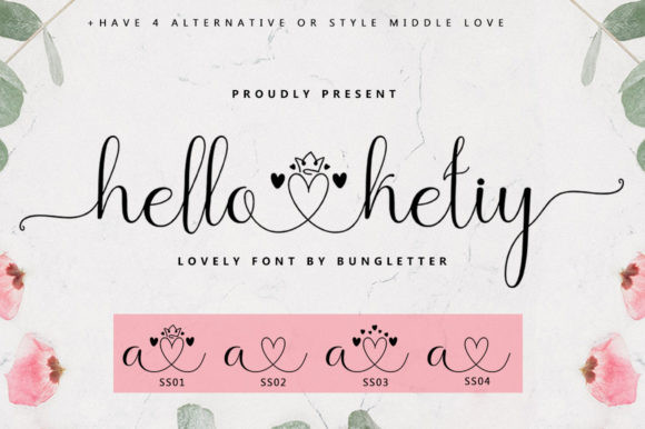 Hello Ketiy Font