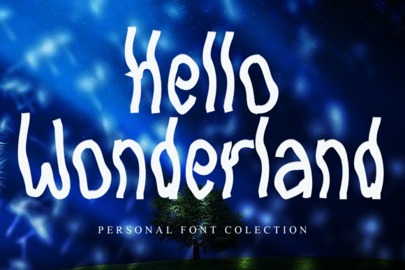 Hello Wonderland Font