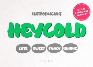 Heycold Font