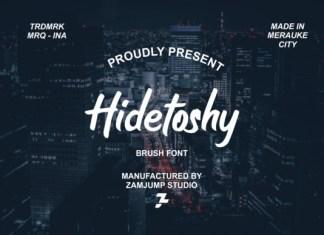 Hidetoshy Font