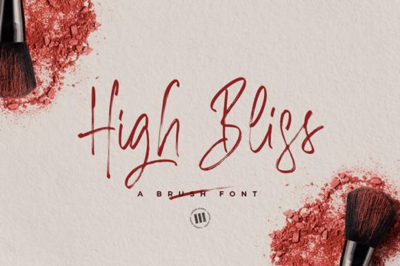 High Bliss Font